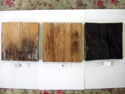 改質化木材について